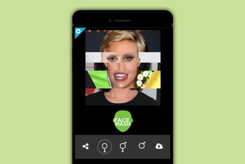 Celebrity FaceMash App Concept