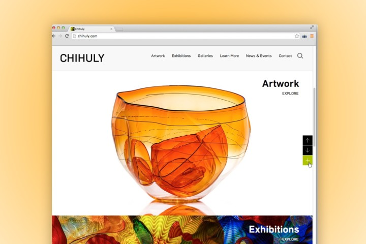 Dale Chihuly Artist Website