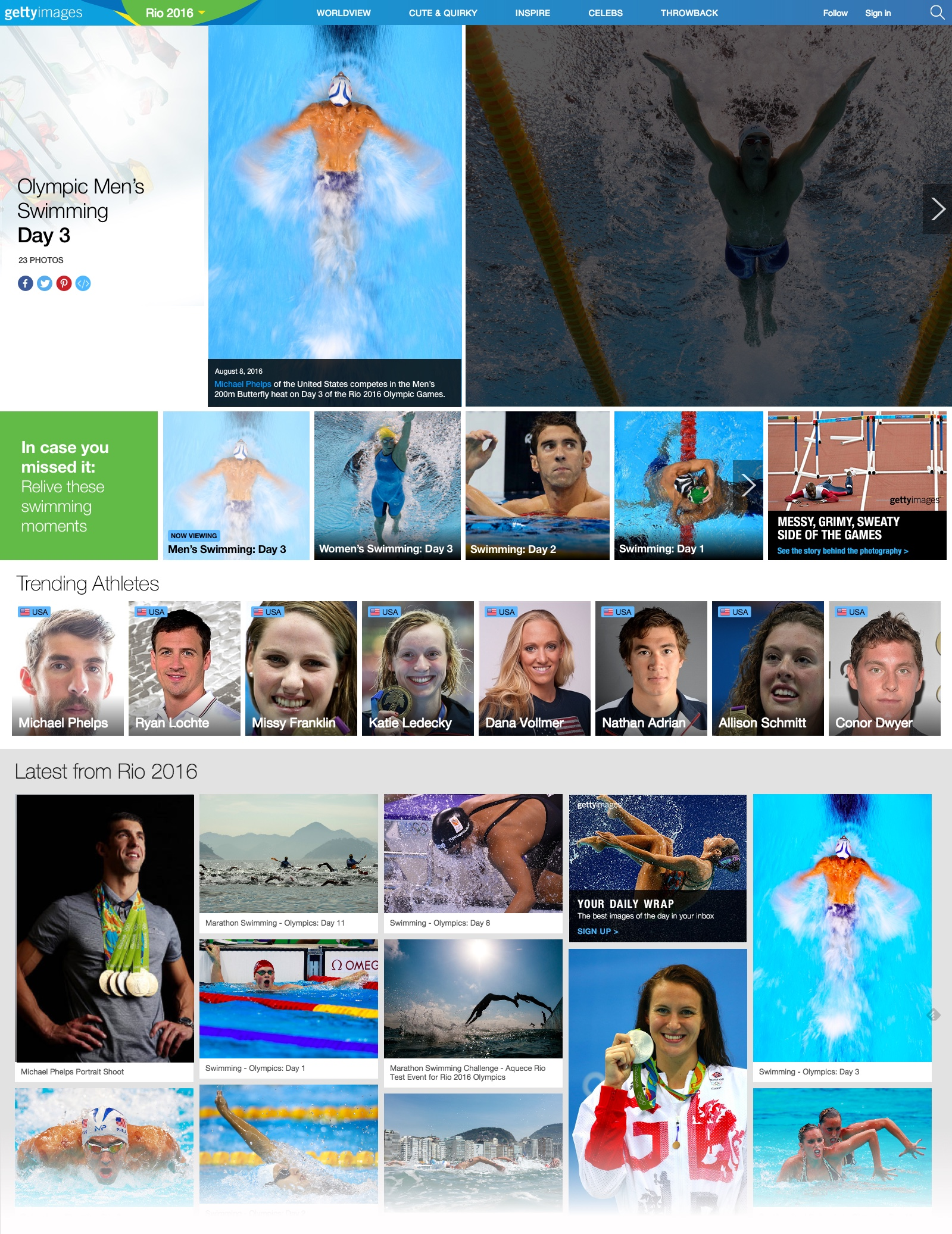 Olympics Gallery Page