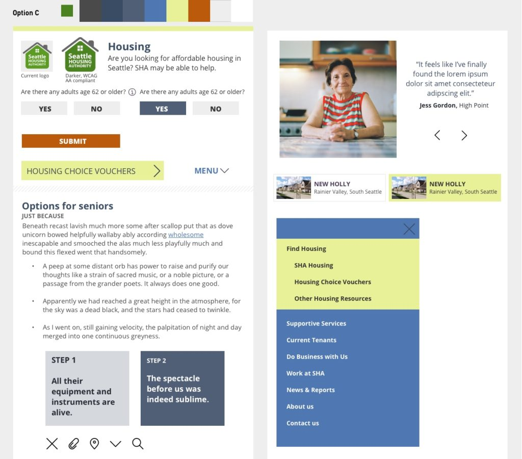 Low Income Housing Website For Seattle Housing Authority